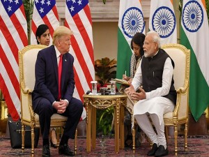 India Us Sign 3 Deals At Trump S 2 Day Visit To India
