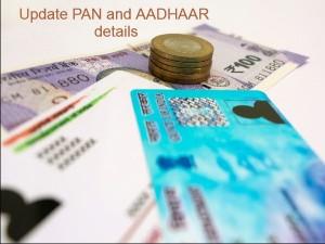 Update Aadhaar Card And Pan Card Aetails Online
