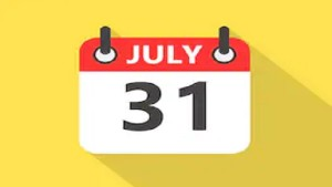 Financial Tasks To Be Completed By 31 July