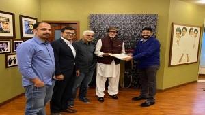Amitabh Bachchan Launches Nft With Rhiti Entertainment S Platform Beyondlife Club