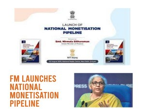 Fm Launches National Monetisation Pipeline Today Aiming Infrastructural Development