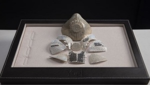 Israeli Jeweller Is Making The World's Most Expensive Coronavirus Mask